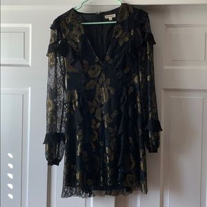 For Love and Lemons black lace dress. Worn once.
